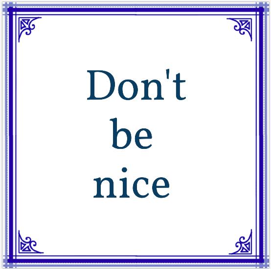 Schrijftraining voor afdelingen: don't be nice